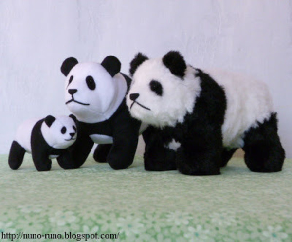 Panda Plushie · Craft Finds · Cut Out + Keep Craft Blog